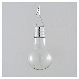 Clear Bulb Solar powered LED Big solar LED