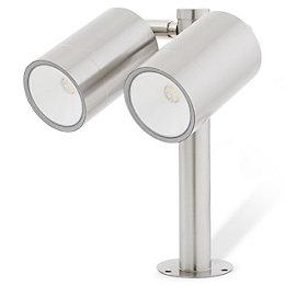 Blooma Candiac Brushed LED Spike light