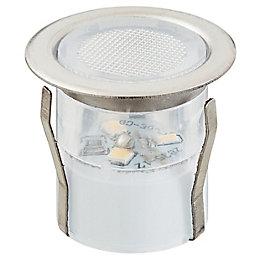 Blooma Coldstrip Brushed LED Deck light, Pack of