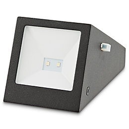 Blooma Plevna Black Solar powered Brick light