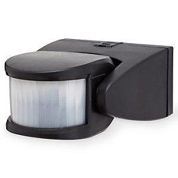 Blooma Brant Black Mains Motion sensor
