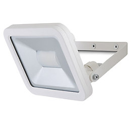 Blooma Weyburn Sanded White Mains Floodlight