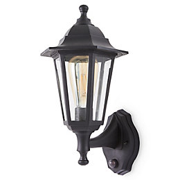 Blooma Anqui Black Mains powered 6 faces outdoor