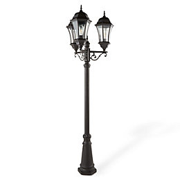 Blooma Richelieu Powder coated Black 6 faces lamp
