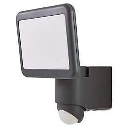 Blooma Delson Charcoal Mains Floodlight