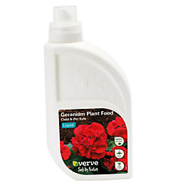 Verve Geranium plant food liquid 1L