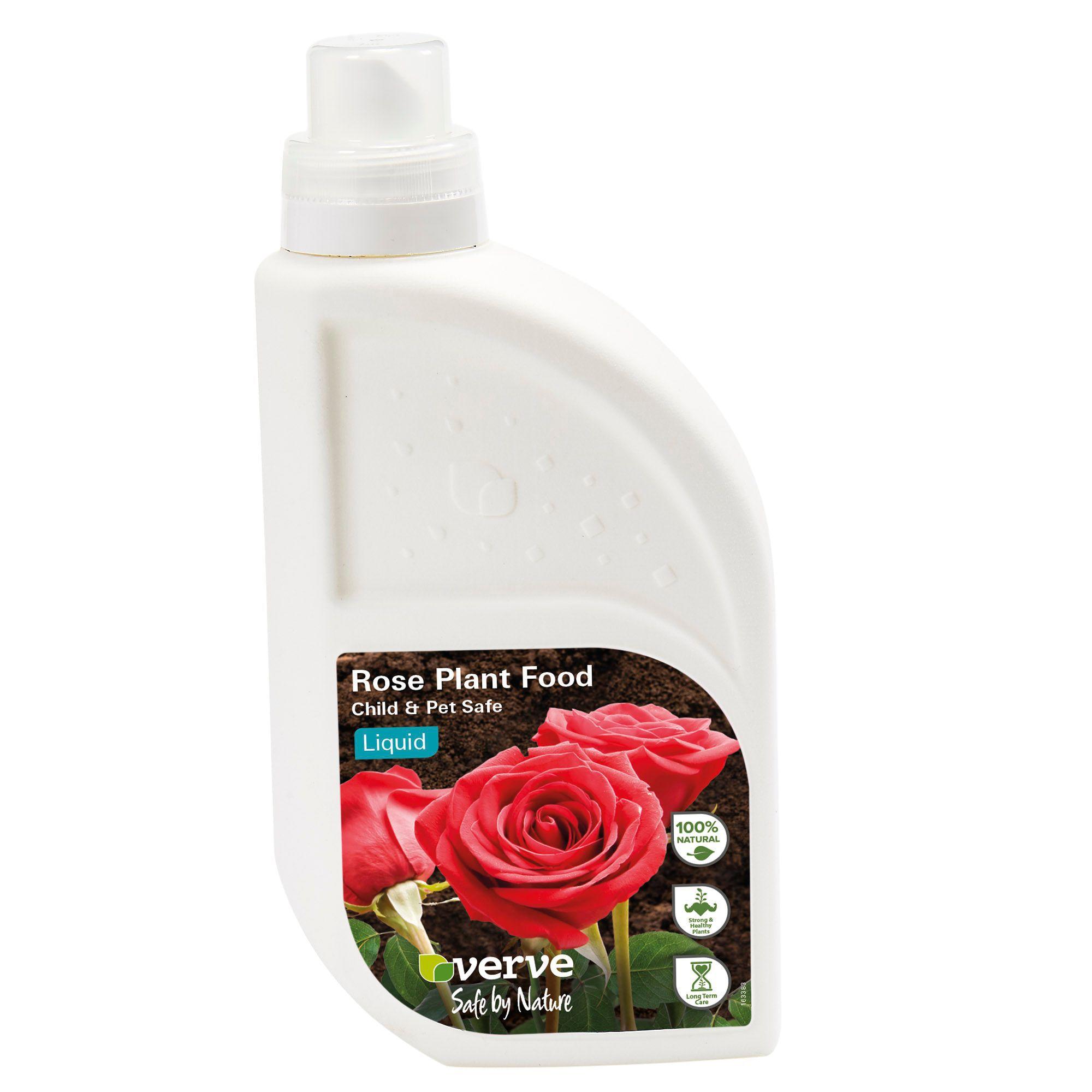 Verve rose plant food liquid 1l departments diy at b q for Diy rose food