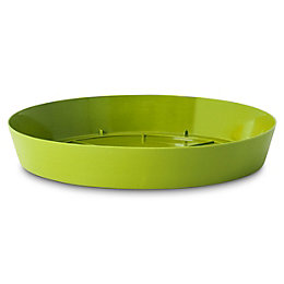 Blooma Green Plastic Saucer (Dia)230mm