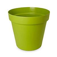 Nurgul Round Green Pot (H)177mm (Dia)200mm