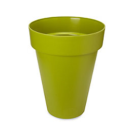 Nurgul Round Green Tall pot (H)577mm (Dia)461mm