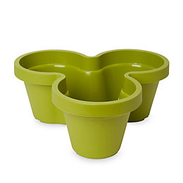 Nurgul Green Trio Pot (H)160mm (Dia)400mm