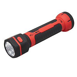 Diall 215lm ABS Plastic LED Black & Red