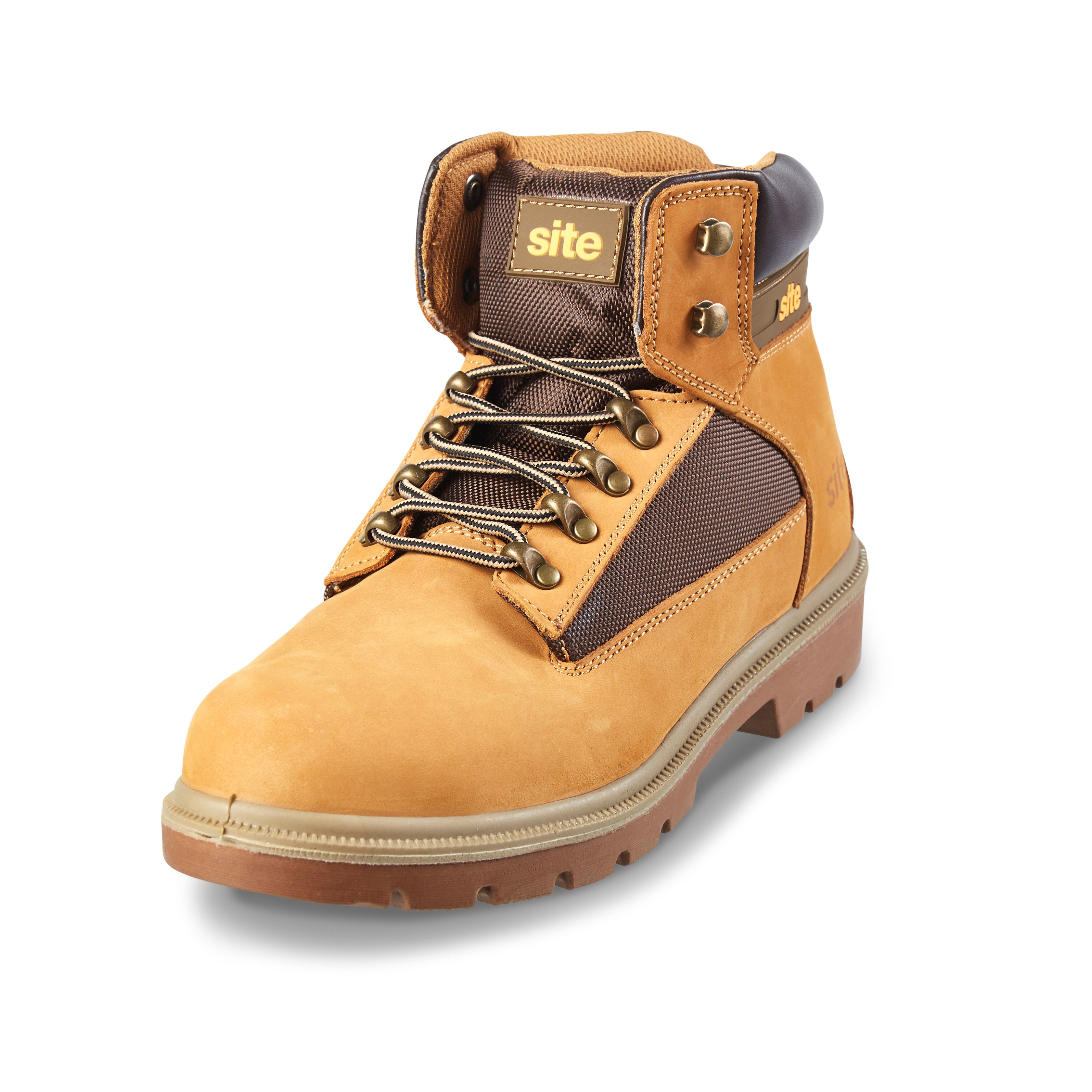 best online differently wide varieties Site Honey Safety boots, Size 9 | Departments | DIY at B&Q