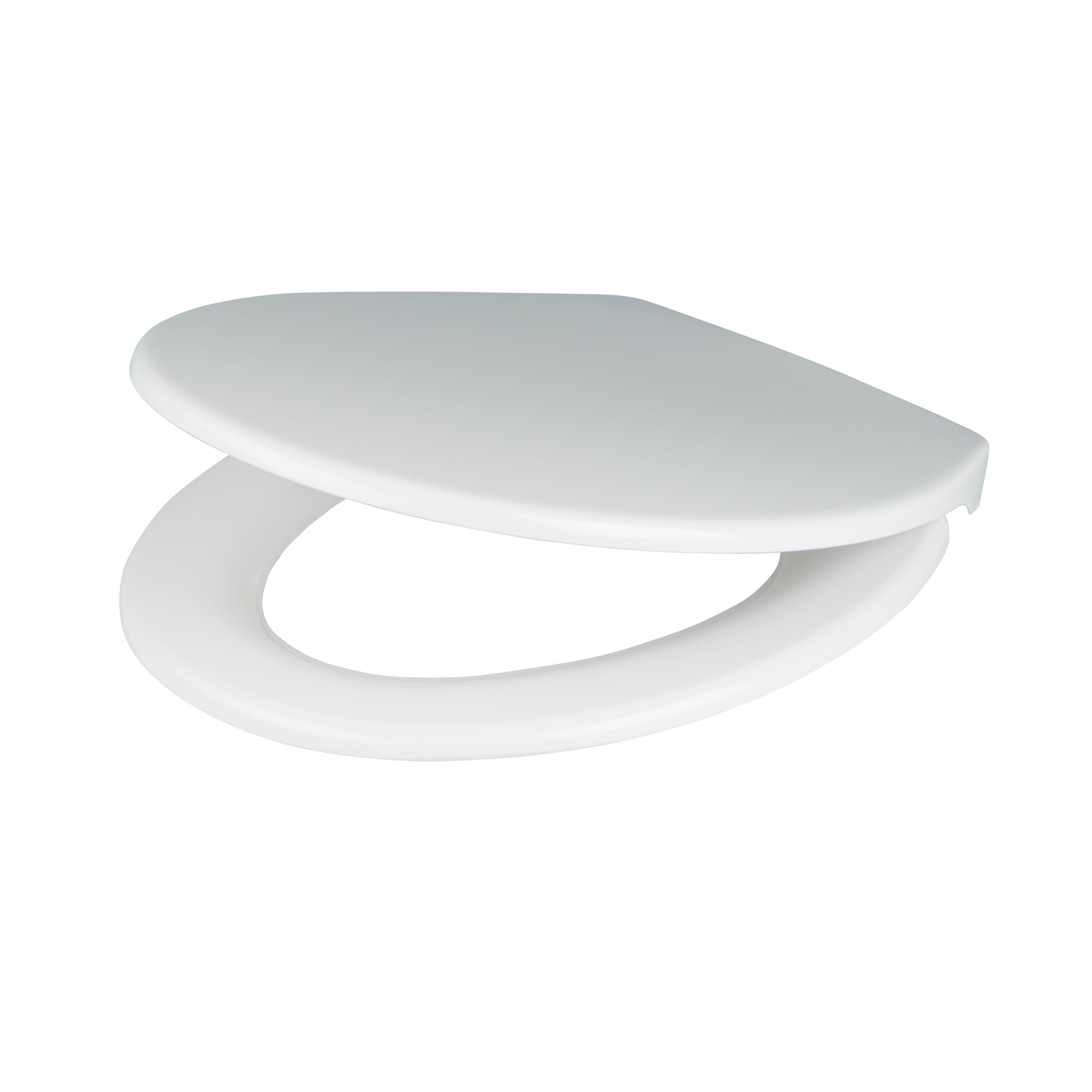 Prime Cooke Lewis Diani White Top Fix Soft Close Toilet Seat Departments Diy At Bq Creativecarmelina Interior Chair Design Creativecarmelinacom