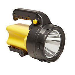 Diall ABS LED Black & Yellow Spotlight