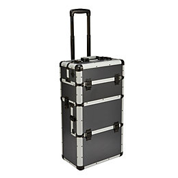 Mac Allister Aluminium Mobile Storage Case (H)670mm (W)225mm
