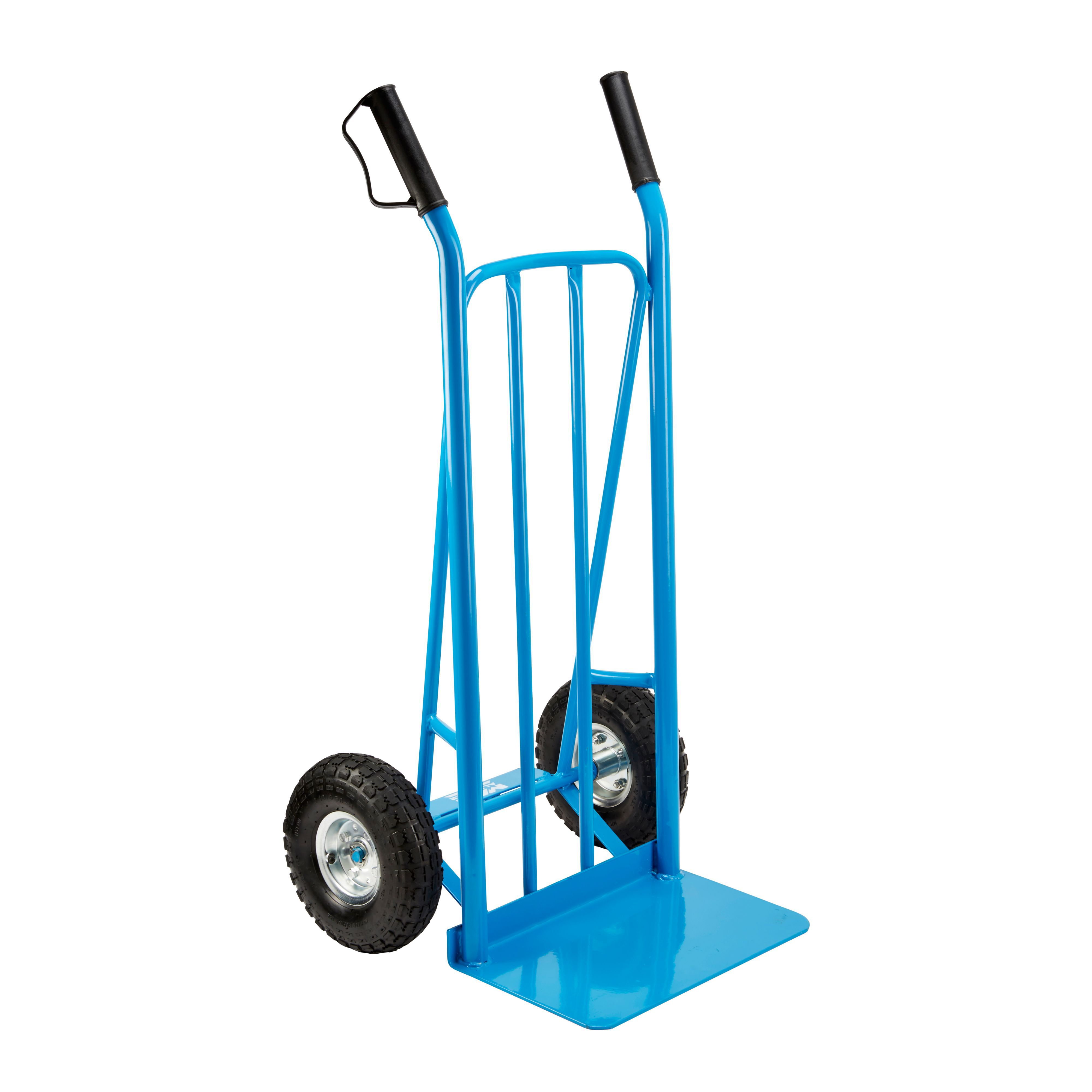 mac allister heavy duty hand truck max weight 300kg departments diy at bq - Heavy Duty Hand Truck