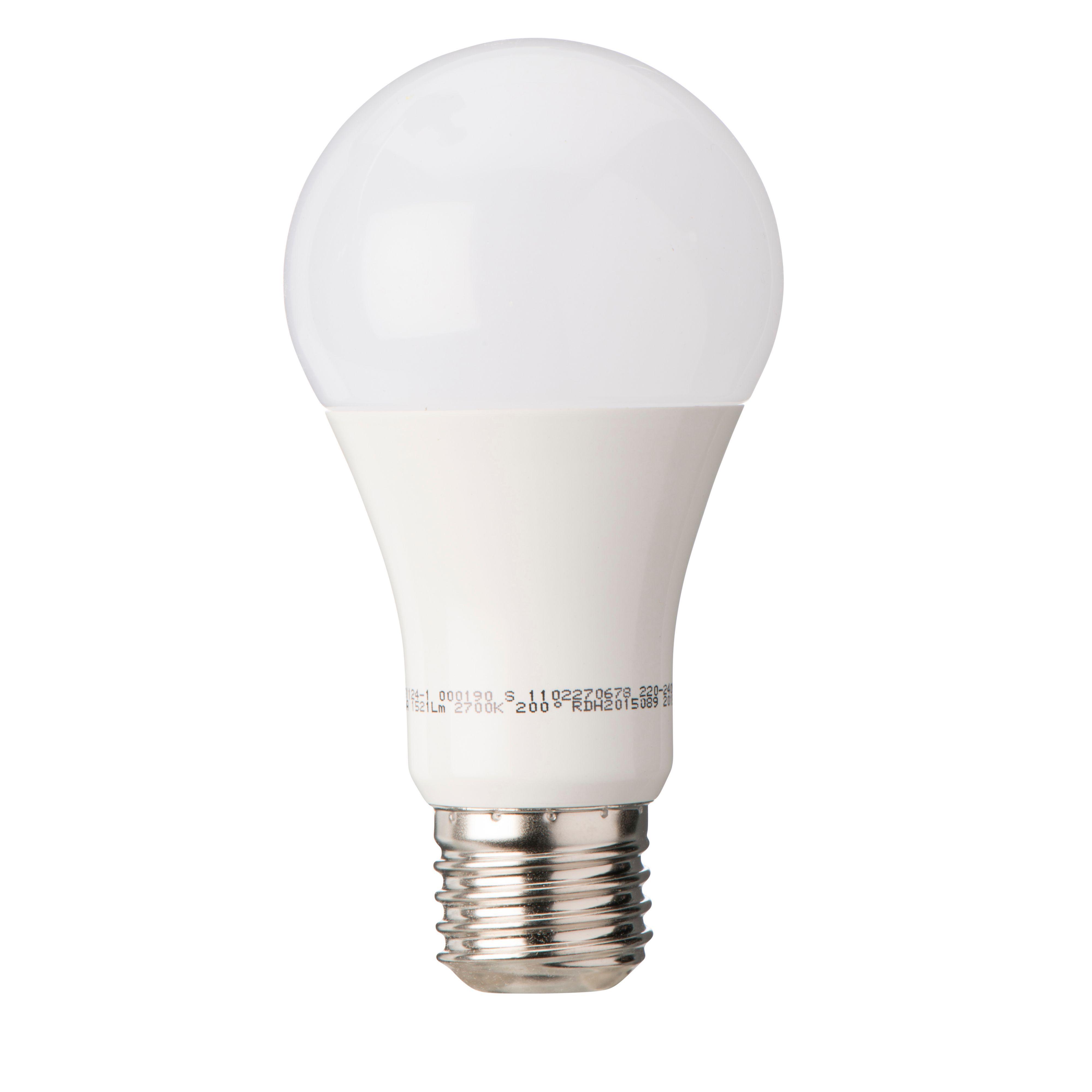 Diall E27 1521lm LED Classic Light Bulb