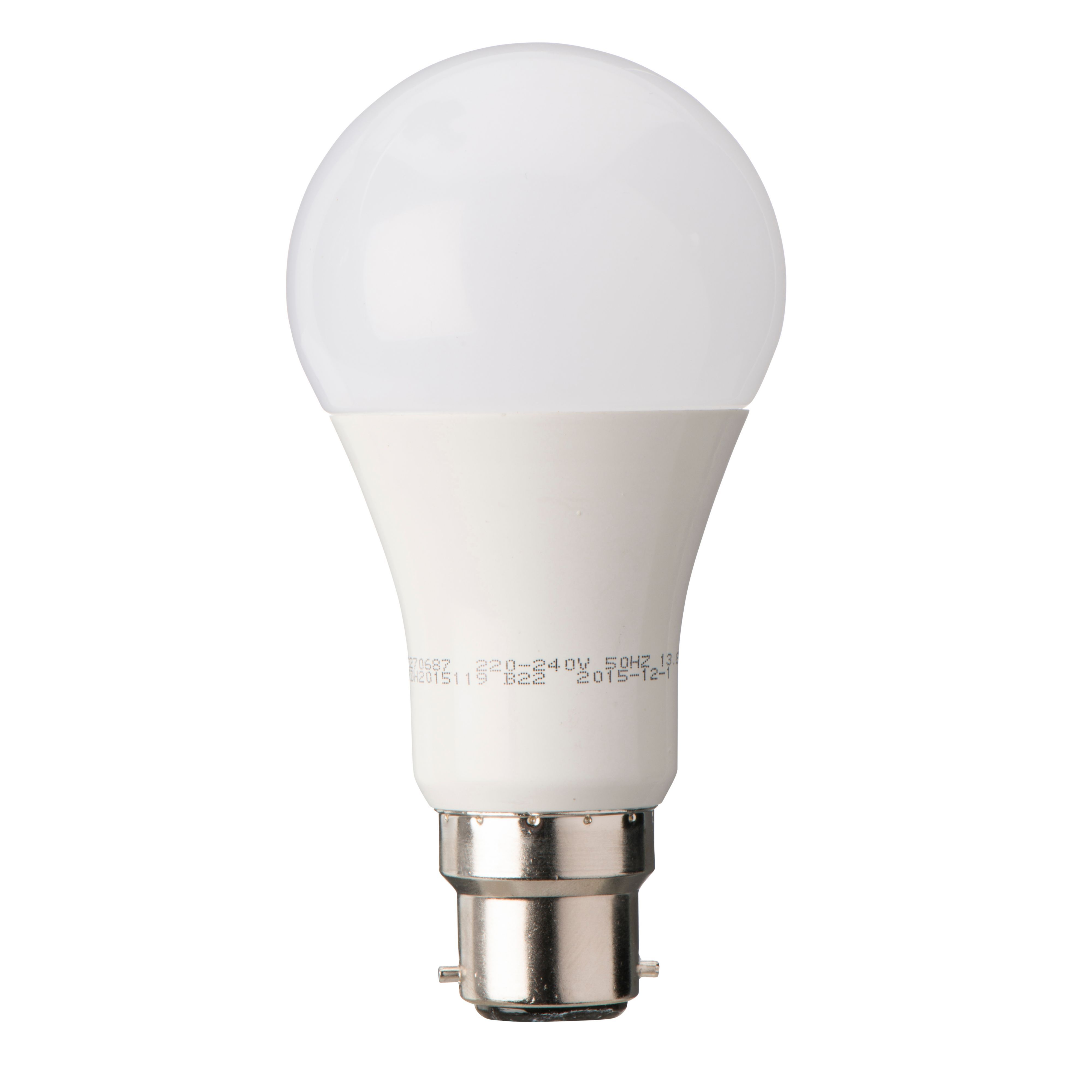 Diall B22 1521lm LED Dimmable Classic Light Bulb