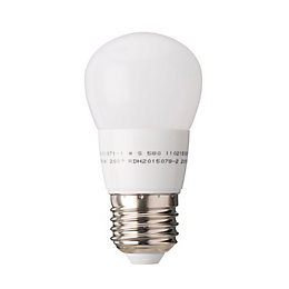Diall E27 470lm LED Ball Light Bulb