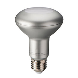 Diall E27 390lm LED R80 Light bulb