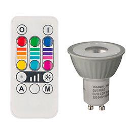 Vezzio GU10 MR16 55lm LED Reflector spot Light