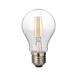 Diall E27 4W LED filament Classic Light bulb