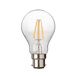 Diall B22 6W LED Filament Classic Light Bulb