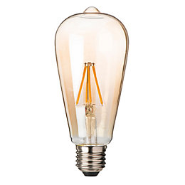 Diall E27 5W LED Filament T26 Light Bulb