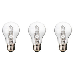 Diall E27 57W Halogen Dimmable Classic Light Bulb,