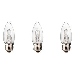 Diall E27 19W Halogen Dimmable Candle Light Bulb,