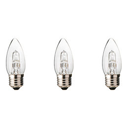 Diall E27 30W Halogen Dimmable Candle Light bulb,