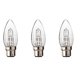 Diall B22 46W Halogen Dimmable Candle Light Bulb,