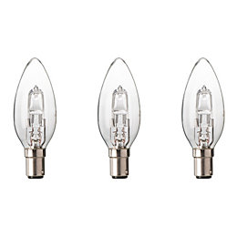 Diall B15 19W Halogen Dimmable Candle Light Bulb,