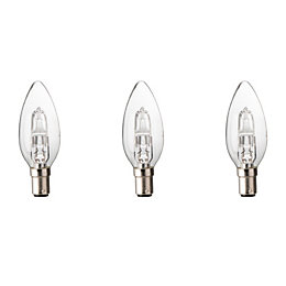 Diall B15 46W Halogen Dimmable Candle Light Bulb,