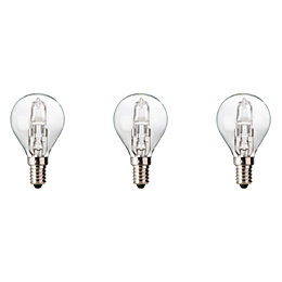 Diall E14 19W Halogen Dimmable Ball Light Bulb,