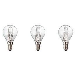 Diall E14 19W Halogen Dimmable Ball Light bulb,