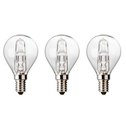 Diall E14 30W Halogen Dimmable Ball Light Bulb,