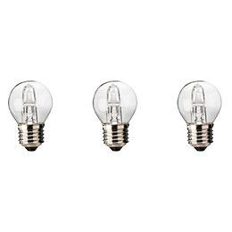 Diall E27 46W Halogen Dimmable Ball Light Bulb,