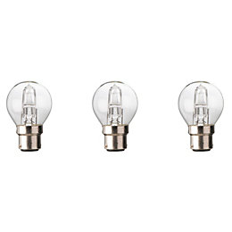 Diall B22 46W Halogen Dimmable Mini Globe Light