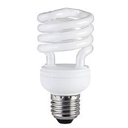 Diall E27 15W CFL Spiral Light bulb