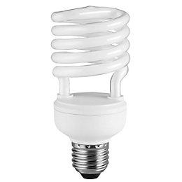 Diall E27 23W CFL Spiral Light Bulb