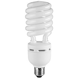Diall E27 35W CFL Spiral Light Bulb
