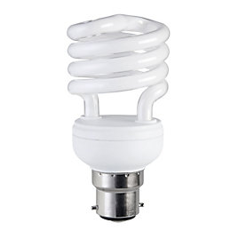 Diall B22 15W CFL Spiral Light Bulb