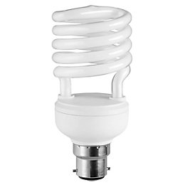 Diall B22 23W CFL Spiral Light Bulb