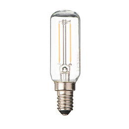 Diall E14 2W LED Filament T26 Light Bulb