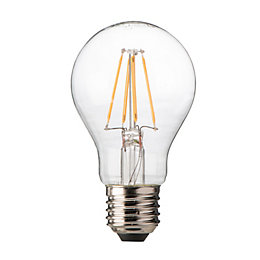 Diall E27 7.5W LED Filament Dimmable Classic Light