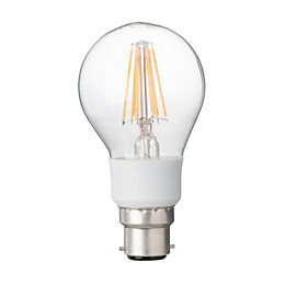 Diall B22 7W LED Filament Dimmable Classic Light