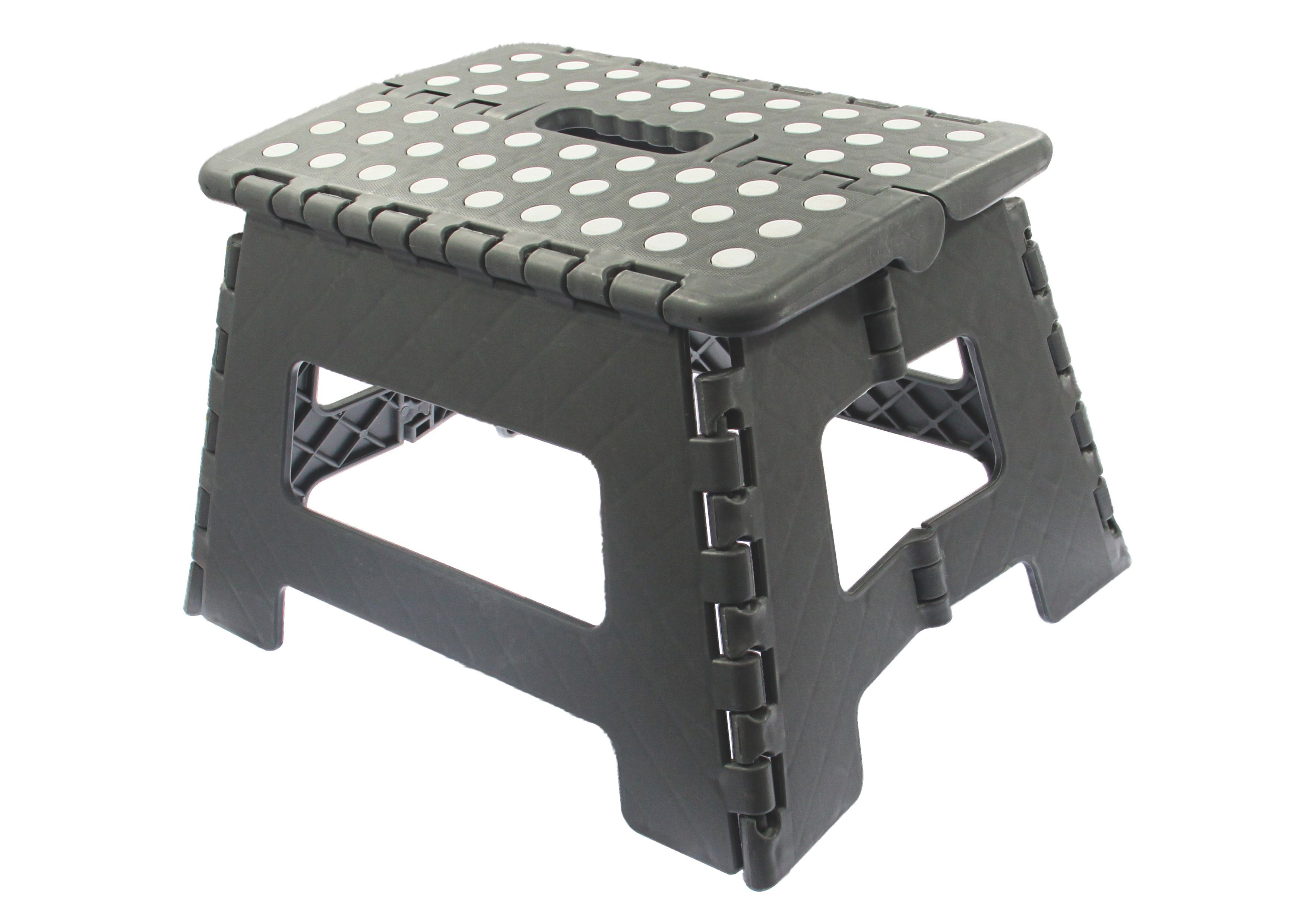 1 Tread Plastic Step Stool Departments Diy At B Amp Q