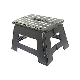 1 tread Plastic Step stool, 0.22m